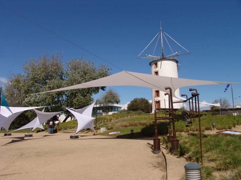Les Toiles des Sens au Jardin du vent