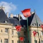 Les Coquelicots à Vaux-le-Vicomte