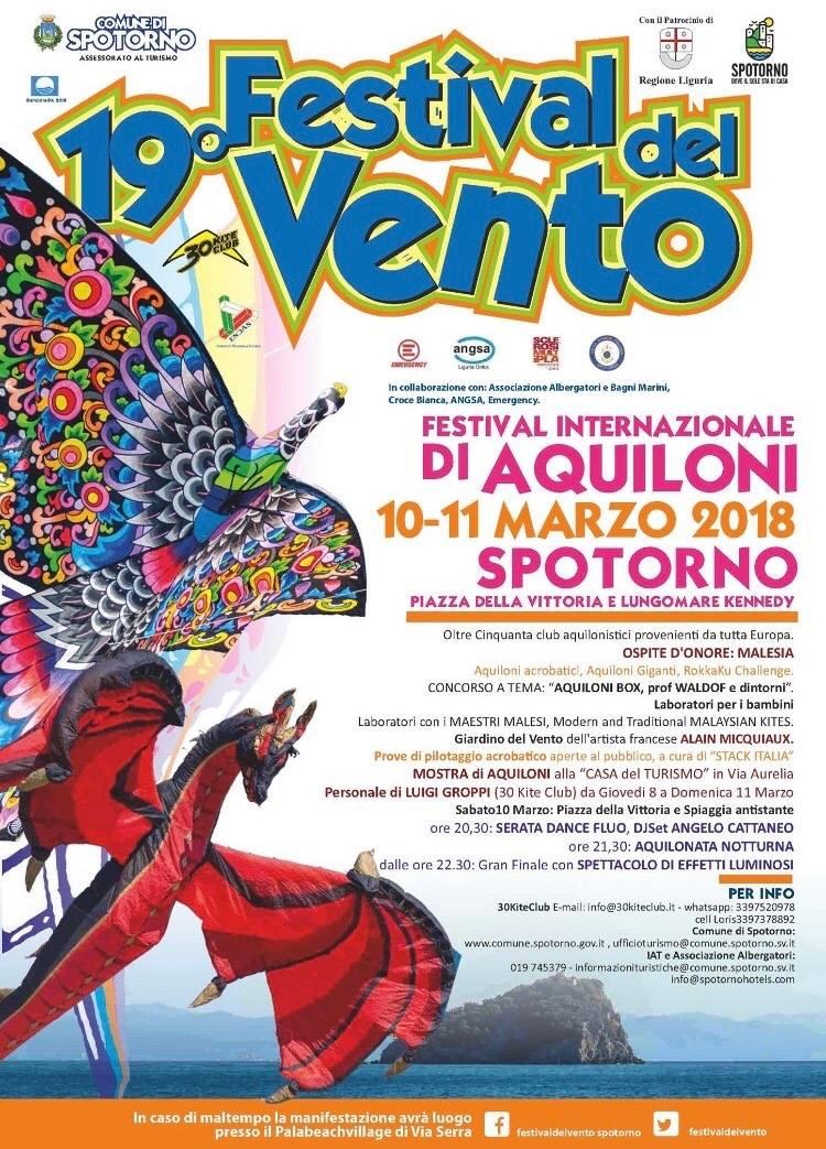 festival di aquiloni Spotorno