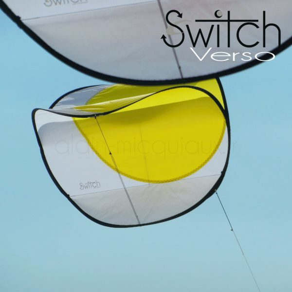 cerf-volant, Switch Verso Jaune