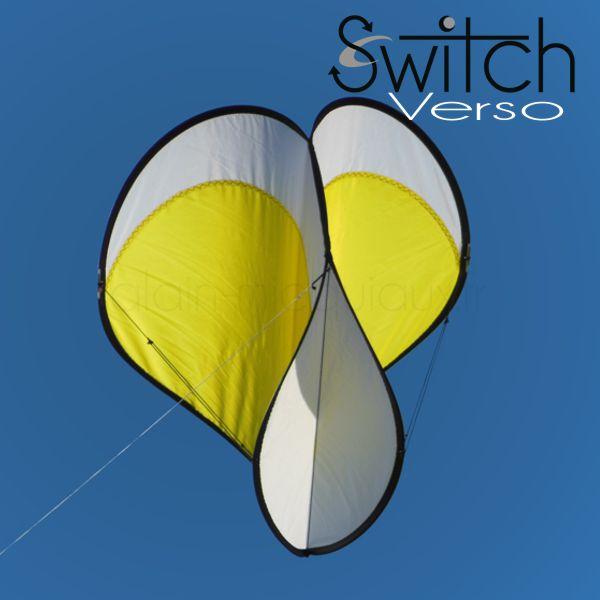 cerf-volant Switch verso jaune
