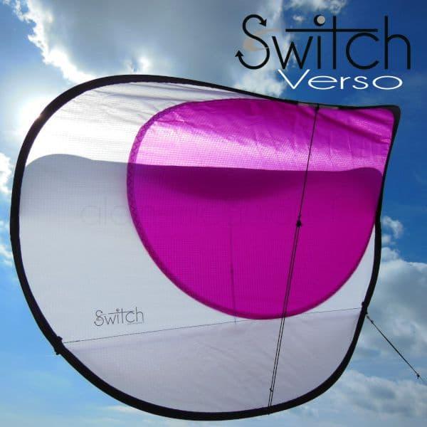 cerf-volant, Switch Verso Violet