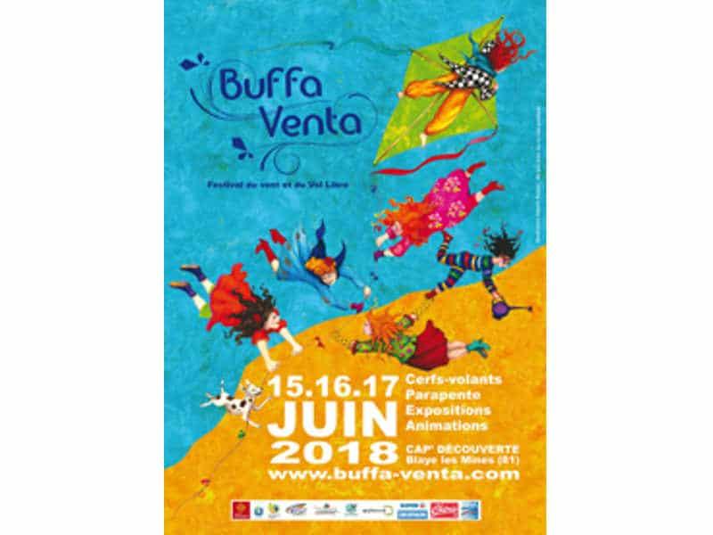 Buffa Venta kite festival