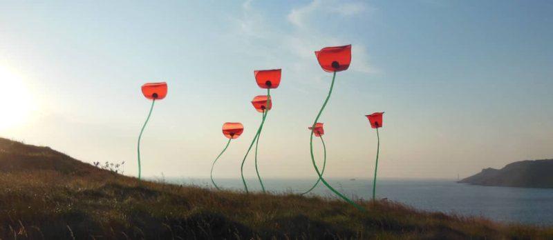 cerf-volant d'art et poésie du vent par Alain Micquiaux