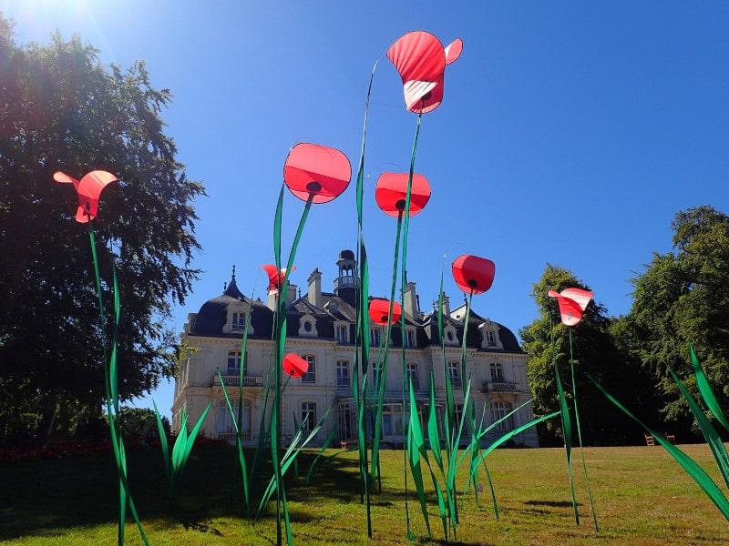 Poésie au Parc de la Briantais à St Malo