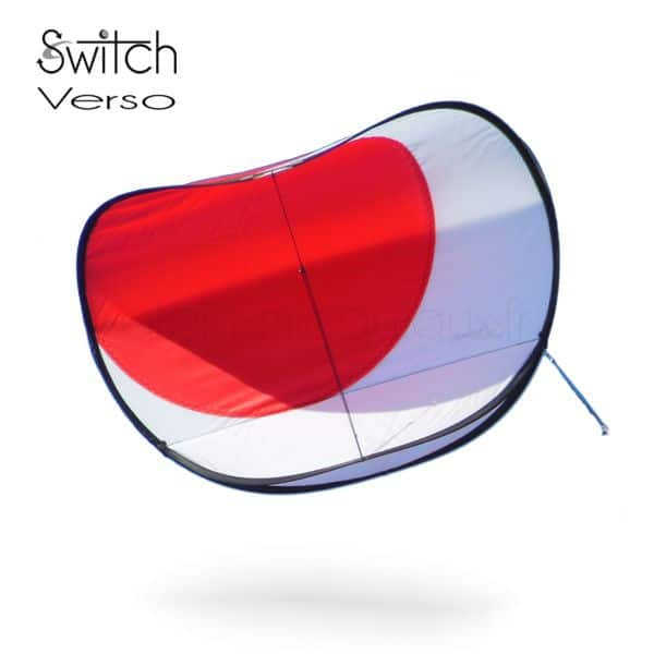 cerf-volant Switch verso rouge